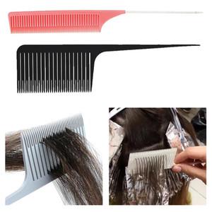 2x Geniş İnce Diş Salon Dokuma Vurgulama Foiling Saç Combs