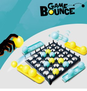 China Supplier Hot Funny Popular Kids Plastic Toy Kids toy Bounce Games Ball Great Family and Party Desktop Bouncing Ball Game Sets