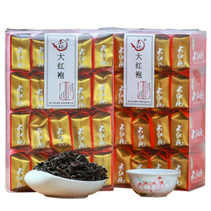 250g O manto vermelho grande de variedades finas de chineses Da Hong Pao oolong cuidados de saúde chá do transporte livre presente original