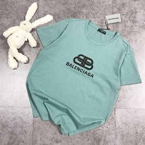 2020 nuovi mens di lusso del progettista marchi di moda delle donne della maglietta estate vestiti sovradimensionati vintage classico abbigliamento casual cotone magliette 5.22