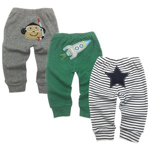 Bebek Pantolon Yenidoğan Bebekler Erkek Bebek Kız Pantolon Roupa Bebe 3 Paket 3 6 9 12 18 24 Ay Pantolon Çocuk Giyim Y19061303