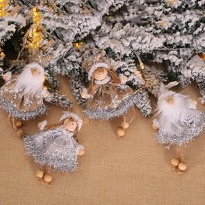 Noël Ange mignon Père Noël Doll Décoration Pendentif créatif Sapin de Noël Hanging Décorations de Noël Décoration pour la maison