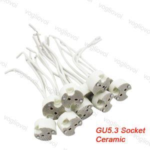 MR16 / GU5.3 / MR11 / G4 / GX53 LED 와이어 150mm 커넥터 LED 소켓 LED 전구 할로겐 램프 기초 조명 홀더 어댑터 변환기 EUB