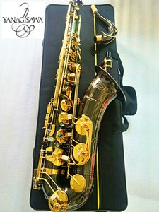 New Brand Japanes YANAGISAWA W-037 B Flat Tenor saxophone Electroplated black nickel gold Musical instrument Saxophone Professional and case