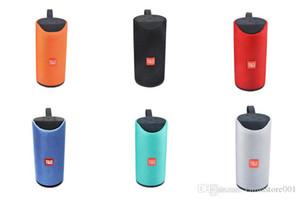 TG113 Bluetooth Speakers FM Radio TF USB AUX Gioca poco costoso Bass senza fili AD ALTA FEDELTÀ portatile Lettore MP3 Outdoor Speaker Big Sound Meglio Charge2