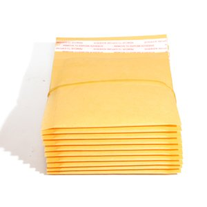 50PCS lot Kraft Paper Bubble Envelopes Bags Mailers Padded Shipping Envelope With Bubble Mailing Bag Business Supplies