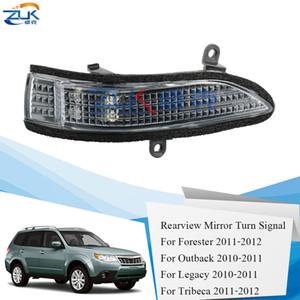 ZUK BUONA specchio retrovisore di segnale di girata LED Ripetitore lampada OEM: 84401-AG053 84401-AG043 Per Subaru Forester Outback Legacy Tribeca