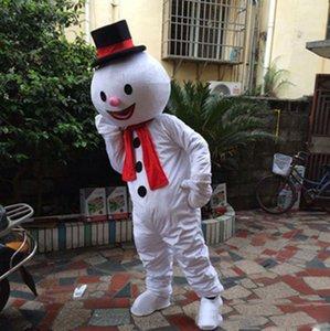 chaud 2019 usine de Noël Hot Snowman mascotte Costume Party Dress Snowman Livraison gratuite PEE Taille adulte