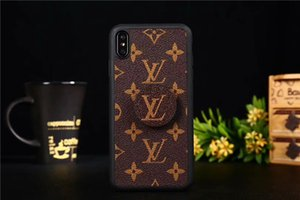 For iPhone X Case Monogram Bumper Phone Case For Iphone XS Max XR 8 7 6 Plus Shockproof Full Body Protection Cellphone Back Cover