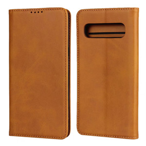 Genuine Real Leather Case For Samsung Galaxy S20 Ultra S10 Plus 10Lite Note 10 9 A71 A51 A41 A21 A11 A70 A50 A30S A20 A20E Wallet Card Caver