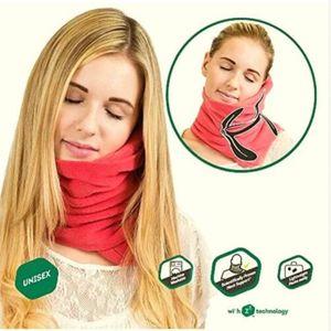 Airplane No Inflatable Neck Pillow Comfortable Travel Pillows For Sleep Home Textile Cojines Travesseiro Oreiller Pillow Travel