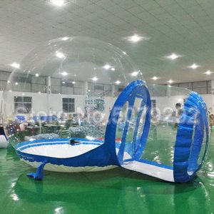 Beautiful Inflatable Bubble House For Outdoor Camping 3M Dia Inflatable Bubble Tree Transparent Bubble Dome  Bubble Hotel Cheap