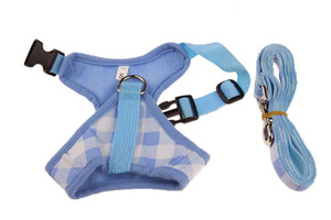 10PCS I-Shape Pet Dog Chest Strap Harness Traction Rope Set Creative Adjustable Outdoor Pet Mesh Vest Chest Strap Dog Leash