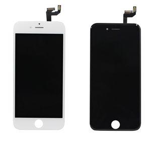 العرض LCD آيفون 6S 6S فون بالإضافة إلى أسود أبيض تعمل باللمس محول الأرقام شاشة كاملة مع الإطار استبدال الجمعية كاملة