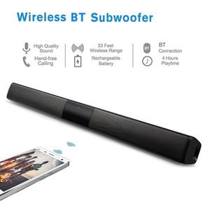 Alto-falantes Estéreo Portátil Sem Fio Bluetooth Speaker Soundbar TF USB Subwoofer Graves Pesados Handsfree para Casa TV Computador Smartphone