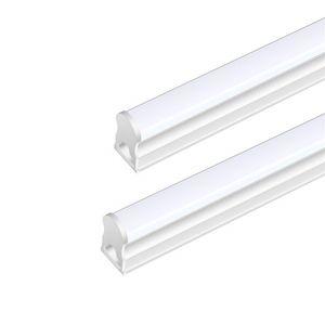 T5 LED أنبوب الخفيفة المتكاملة لاعبا اساسيا واحدة، شفاف غطاء غطاء حليبي، والمنفعة محل ضوء، السقف وتحت ضوء مجلس الوزراء