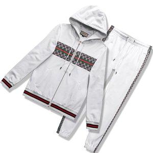 Branded Suit Fashion New Sweatshirt Suits Jogging Designer Men's Running Tracksuit Suit Men's Medusa Casual Sweatshirts Suit