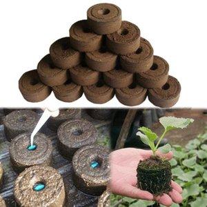 Home & Garden 1 5 10pcs Nursery Soil Garden Flowers Planting The Soil Block Plant Seedlings Peat Cultivate Block Seed Migration Tools