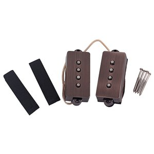 1 Set Neck Ponte Pickups Alnico para corda 4 PB Precision Bass