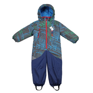 Boys winter waterproof snowsuit Moomin New Single Breasted Hooded winter Cotton romper green Baby Boys winter clothes Y200704