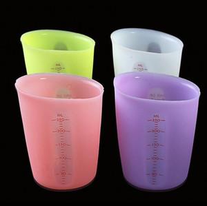 Силиконовые Измерение Чашки цвета конфеты двухмасштабных Food Grade Измерительные инструменты Экологичный Силиконовые чашки молока торт Инструменты 30pcs CCA11790-A