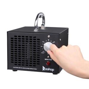 Générateur commercial 5000mg / h Ozone machine Accueil air ioniseurs Deodorizer pour les chambres, la fumée, les voitures et animaux de compagnie, États-Unis noir de bateau