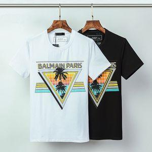Top Quality Fashion BM Letter Unisex T-Shirt #001 Thom Europe Paris Famous Summer Short sleeve Mens Women Hip Hop Tees BB Medusa Browne