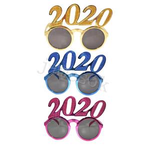 2020 Números Foto Prop óculos flash pó plástico Ano Novo Óculos Crianças Eyewear Para decorações do partido Presentes DA112