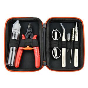 Vapor Storm Tool Bag Kit 8 in 1 Set 100% autentico V1 Kit fit Atomizzatori pinzette da taglio ecigarette coil jig cacciavite brush DHL