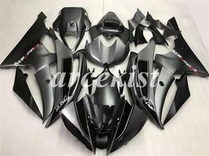 Injection molding New ABS Motorcycle Full Fairing Kit Fit For Yamaha YZF R6 2006 2007 Bodywork set custom Black