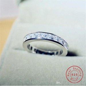 Victoria Wieck neues Ankunfts-Luxuxschmucksachen 925 Sterlingsilber-Voll Princess Cut Weiß Topaz CZ-Diamant-Edelstein-Frauen-Hochzeits-Ring-Geschenk