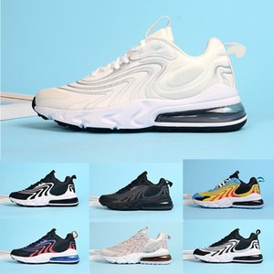 2020 React ENG Men Women Running Shoes Bauhaus Triple White Black Core Oreo Fashion Mens Trainer Outdoor Sport Sneaker Size 5.5-11