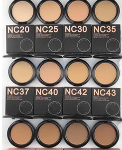 2019 NEW hot makeup high quality nc 12 color STUDIU FIX Powders puffs foundation 15g DHL free shipping