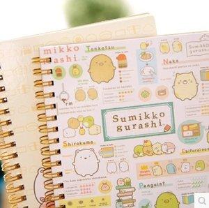 1 adet Kawaii Planlayıcısı Notebook Köşe köşe yaratık Günlüğü Kitap Egzersiz Kompozisyon Bağlama Not Not Defteri Hediye Kırtasiye