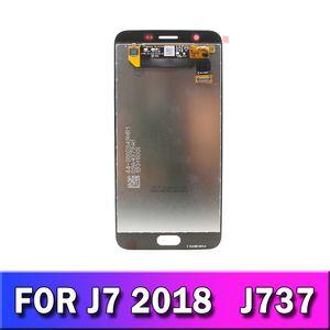 5.5 LCD Ekran Ekran Digitizer için Samsung Galaxy J7 2018 J737 J7V LCD ekran dokunmatik ekran sayısallaştırıcı yedek parça
