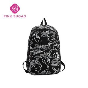 Designer- 디자이너 가방 남성과 여성은 큰 지갑 학생 bookbag 학교 shouder 가방 배낭 연구 여행 addilogo 높은 인쇄 배낭