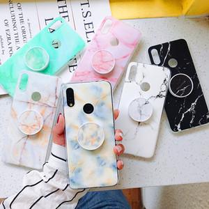 Nuovo arrivo basamento della staffa di copertura Kickstand di caso in marmo Phone Holder per Xiaomi Mi 8/9 lite redmi K20 Nota 5/6/7 Pro