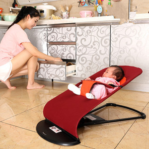 New Style Newborns Folding Bed Baby Rocking Chair Cradles Bed Portable Balance Chair Baby Bouncer Infant Rocker