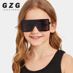 Завышение Square Детские солнцезащитные очки Девушки мальчиков фестиваль Панк Солнцезащитные очки UV400 очки Дети Мужчина для