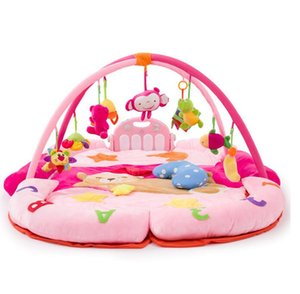 Baby Foot Piano Music Gym 0-2 Years Old Baby Music Crawl Pad for Early Education Toy Play Mat for Kids Tent Childrens Toys