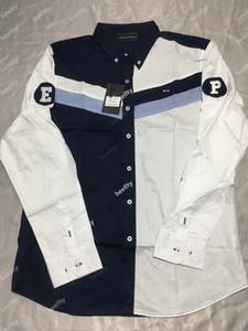 2019 Besting Verkauf Eden Park HOMME Shirt Baumwolle Nizza Qualität Frankreich MEN SHIRT Hohe Stickerei Große Größe M -3XL EdenPark4