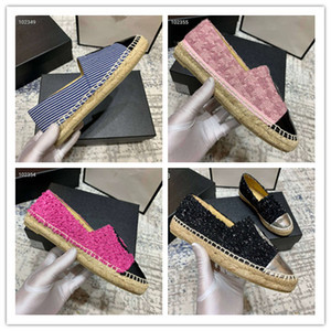 Delle donne famose di marca singolo pattini delle scarpe basse del tallone del progettista Homecoming scarpe casual cerimonia nuziale del partito di alta qualità nuovo arrivo 2020 sz 35-40