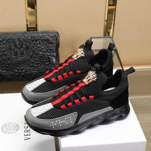 Erkek yeni mükemmel şekil en kaliteli lüks ayakkabı süper vahşi rahat ayakkabılar high-end tadı moda açık spor ayakkabı