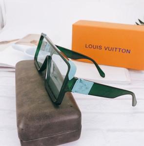 2020 Sıcak satış kadınların moda kare güneş gözlüğü canavar tarzı dikdörtgen güneş UV400 Adumbral Gözlüğü cam ücretsiz nakliye gözlük