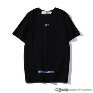 mens designer de camisetas moda verão tshrt hip hop dos t-shirt homme preto branco grife t camisa de algodão para homens