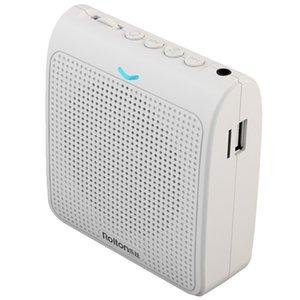 Bel Kemeri Stereo Ses Pirinç Mini Ses Amplifikatör Kart Ekleme ile Taşınabilir Kılavuzu Konuşma Mikrofon Öğretmenler Şarj USB