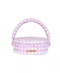 2020 الجديدة مكانة تصميم حقيبة الاختيار وردي المحمولة الجولة كعكة وجبة مربع حقيبة جلدية للسيدات محفظة حقيبة مستحضرات التجميل والأزياء