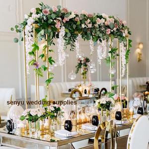 Новый стиль Металлический Подставка под Цветочный Стол Центральные для Украшения Свадебных Событий