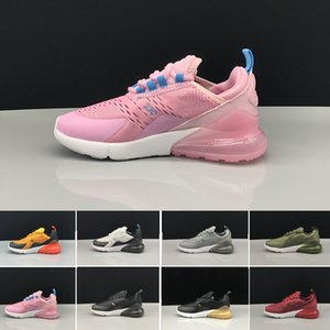 High Quality 2019 Infant Air Kids running shoes pink White Dusty Cactus 27c outdoor toddler athletic sports boy & girl Children sneakers