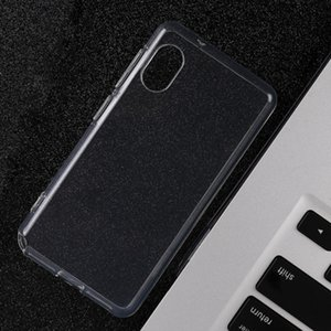 La nueva caja del teléfono móvil transparente anti-caída de TPU completo suave y simple es adecuado para Rakuten mini, venta directa de fábrica
